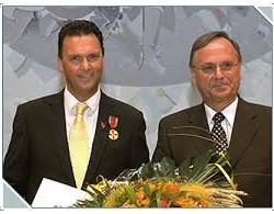 Bundesverdienstmedaille für Robert Greven
