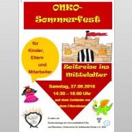 2016-08 Sommerfest Plakat