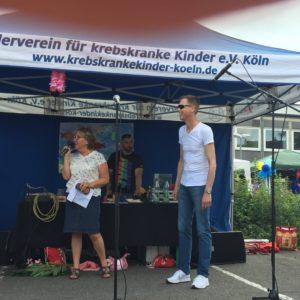 Begrüßung durch Marlene Merhar und Professor Dr. Thorsten Simon